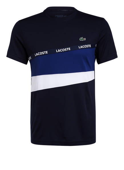 LACOSTE T-Shirt, Farbe: DUNKELBLAU/ BLAU/ WEISS (Bild 1)
