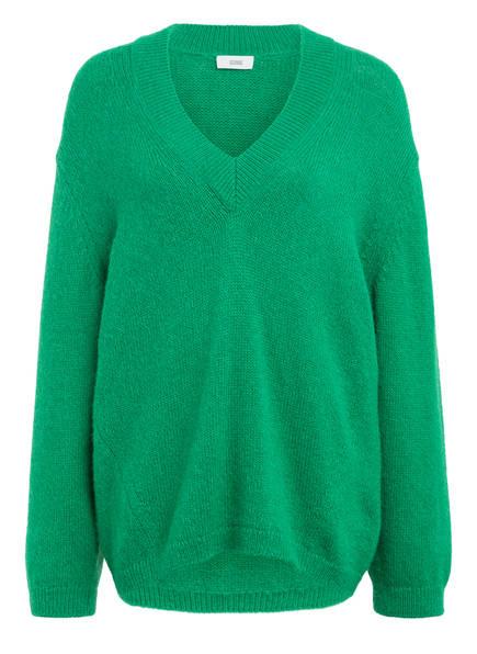 CLOSED Pullover mit Alpaka, Farbe: GRÜN (Bild 1)