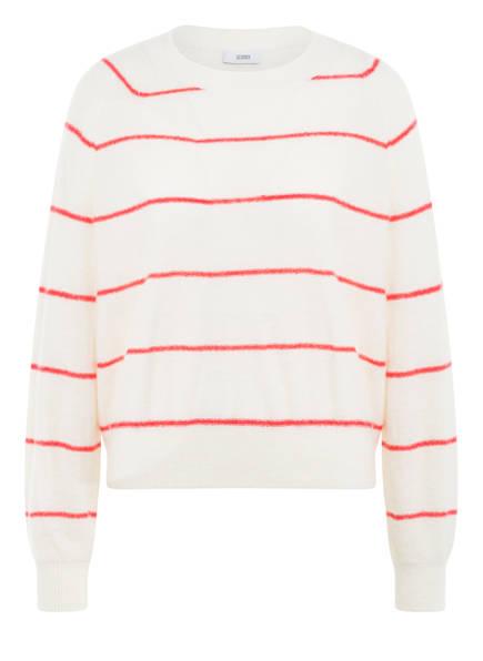CLOSED Pullover, Farbe: CREME/ ROT (Bild 1)