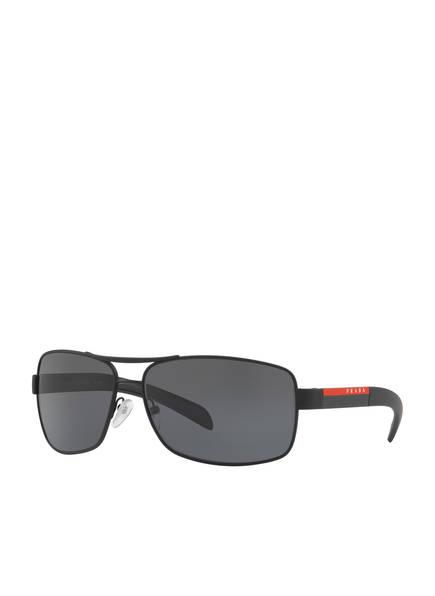 PRADA LINEA ROSSA Sonnenbrille PS 54IS, Farbe: DG05Z1 - SCHWARZ MATT/ SCHWARZ (Bild 1)