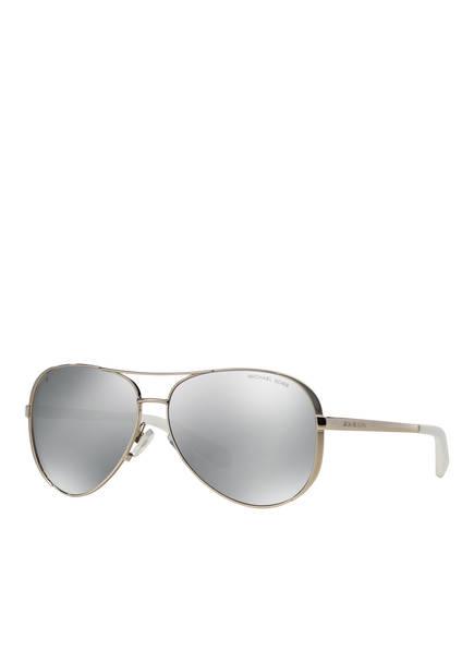 MICHAEL KORS Sonnenbrille MK-5004, Farbe: 1001Z3 - SILBER/ SILBER VERSPIEGELT  (Bild 1)