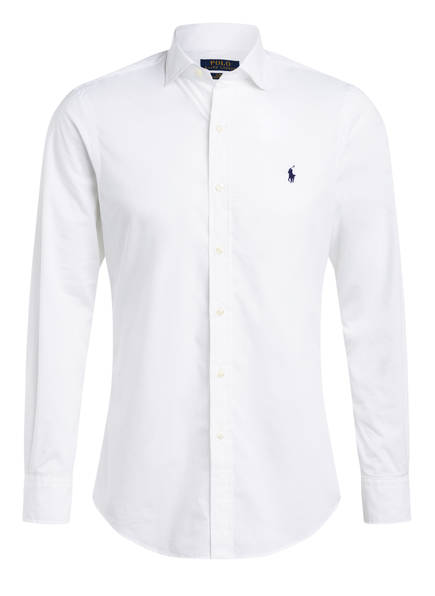 Weißes Polo Ralph Lauren Hemd