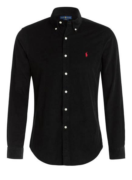 POLO RALPH LAUREN Hemd Slim Fit, Farbe: SCHWARZ (Bild 1)