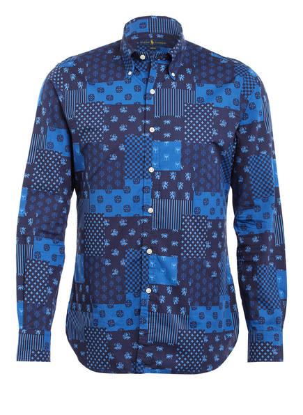 POLO RALPH LAUREN Hemd Slim Fit, Farbe: DUNKELBLAU/ BLAU (Bild 1)