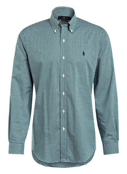 POLO RALPH LAUREN Hemd Custom Fit, Farbe: GRÜN/ WEISS (Bild 1)