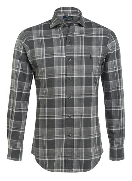 POLO RALPH LAUREN Hemd Slim Fit, Farbe: GRAU KARIERT (Bild 1)