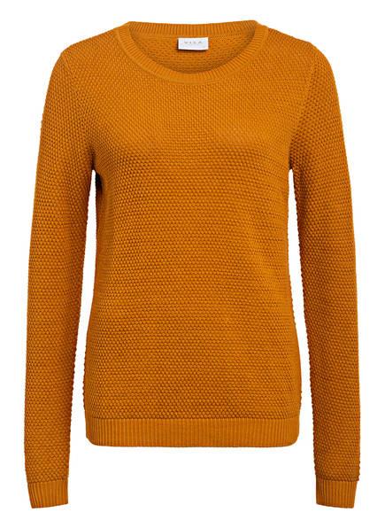 VILA Pullover VICHASSA, Farbe: ORANGE (Bild 1)