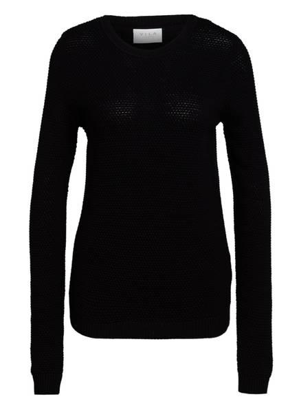 VILA Pullover VICHASSA, Farbe: SCHWARZ (Bild 1)