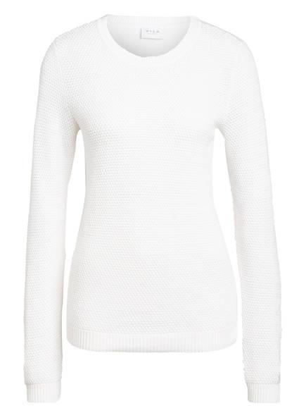 VILA Pullover VICHASSA, Farbe: WEISS (Bild 1)