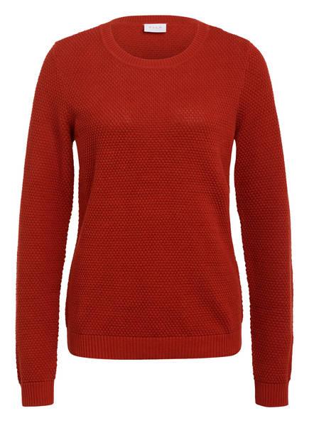 VILA Pullover VICHASSA, Farbe: DUNKELORANGE (Bild 1)