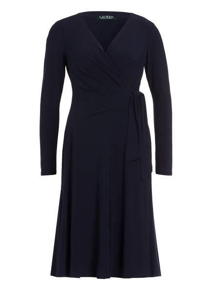 LAUREN RALPH LAUREN Jerseykleid, Farbe: DUNKELBLAU (Bild 1)