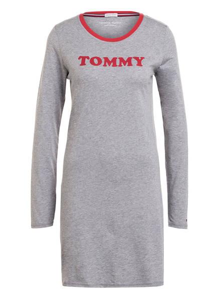 TOMMY HILFIGER Nachthemd, Farbe: HELLGRAU (Bild 1)