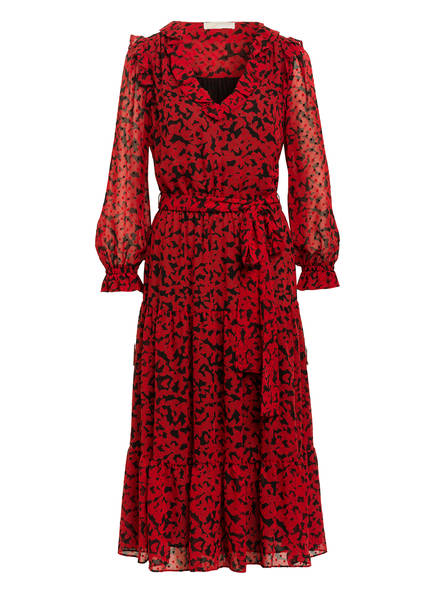 MICHAEL KORS Kleid SCARLET , Farbe: ROT/ SCHWARZ (Bild 1)