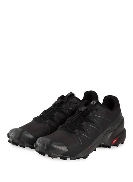 SALOMON Trailrunning-Schuhe SPEEDCROSS 5, Farbe: SCHWARZ (Bild 1)