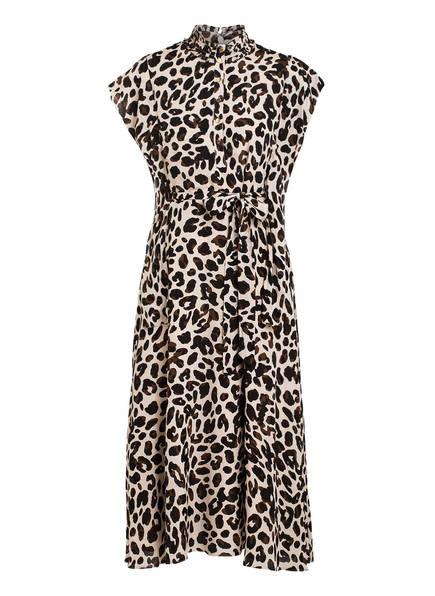 damsel in a dress Kleid TRUDY, Farbe: ECRU/ SCHWARZ/ BRAUN (Bild 1)