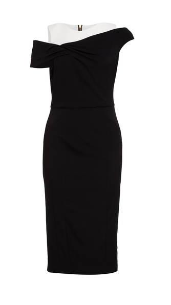 tolle Auswahl erstaunliche Qualität heiß-verkaufendes spätestes Cold-Shoulder-Kleid