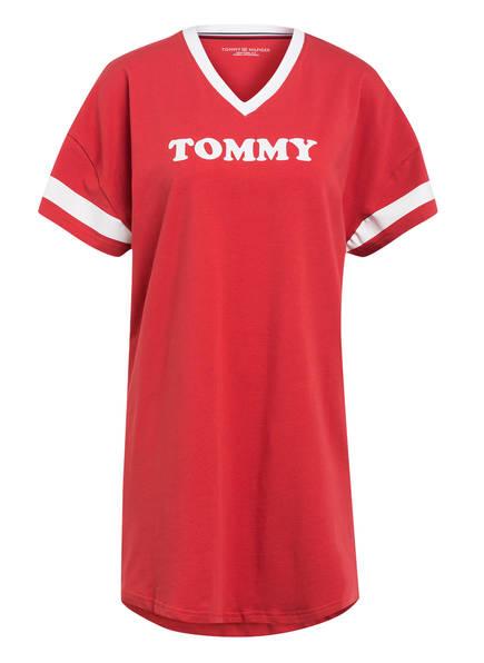 TOMMY HILFIGER Nachthemd, Farbe: HELLROT/ WEISS (Bild 1)