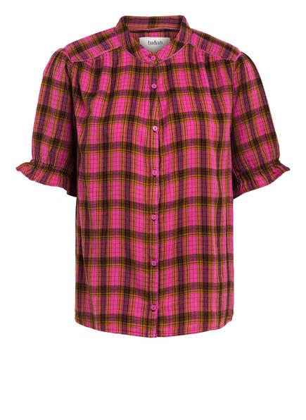 ba&sh Bluse CABEL, Farbe: PINK/ LILA/ COGNAC (Bild 1)