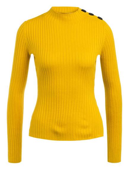 ONE MORE STORY Pullover, Farbe: DUNKELGELB (Bild 1)