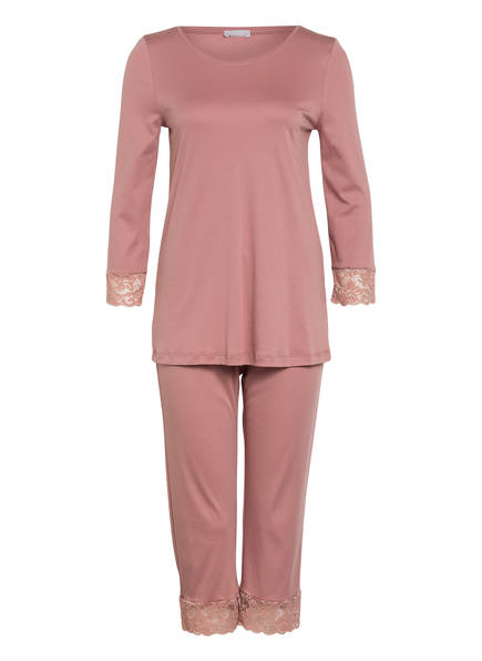 HANRO Schlafanzug MOMENTS mit 3/4-Arm, Farbe: ROSÉ (Bild 1)