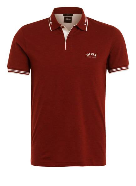 BOSS Piqué-Poloshirt PAUL Slim Fit , Farbe: BORDEAUX (Bild 1)