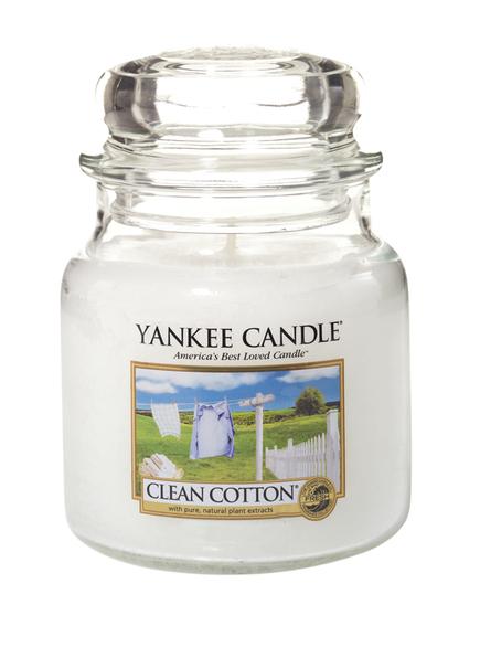 YANKEE CANDLE CLEAN COTTON (Bild 1)