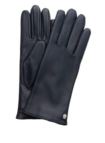 ROECKL Lederhandschuhe CLASSIC WOOL, Farbe: DUNKELBLAU (Bild 1)