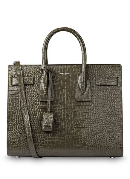 SAINT LAURENT Handtasche SAC DE JOUR SMALL, Farbe: OLIVE (Bild 1)