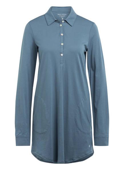 Marc O'Polo Nachthemd, Farbe: BLAUGRAU (Bild 1)