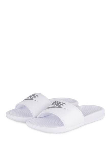 Nike Pantoletten BENASSI , Farbe: WEISS (Bild 1)