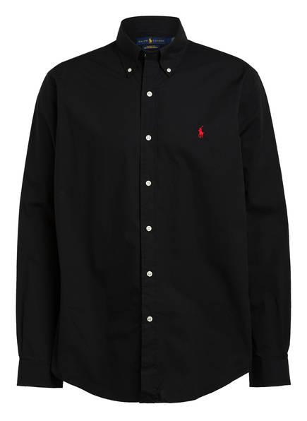 POLO RALPH LAUREN Hemd Custom Fit, Farbe: SCHWARZ (Bild 1)