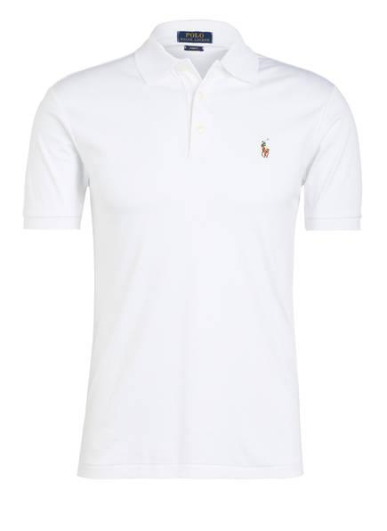 POLO RALPH LAUREN Jersey-Poloshirt Slim Fit, Farbe: CREME (Bild 1)