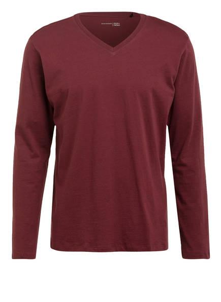 SCHIESSER Schlafshirt, Farbe: DUNKELROT (Bild 1)
