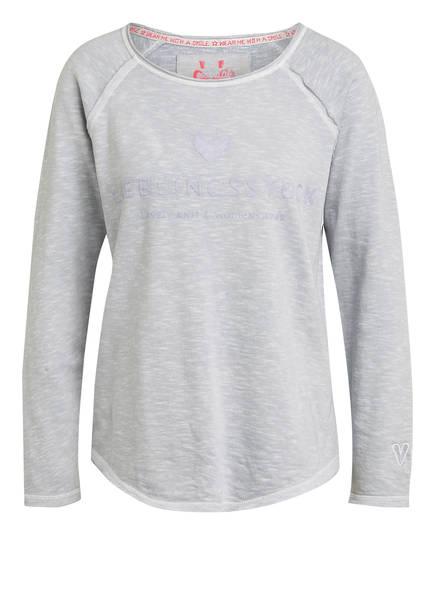 LIEBLINGSSTÜCK Sweatshirt CATHRINA, Farbe: HELLGRAU MELIERT (Bild 1)