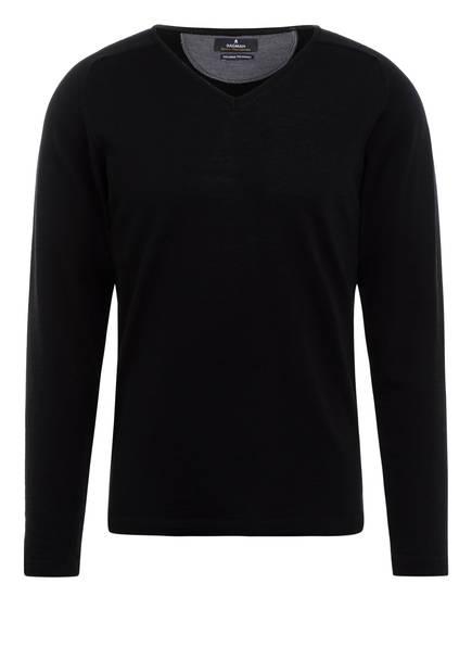 RAGMAN Pullover aus Merinowolle, Farbe: 009 SCHWARZ (Bild 1)