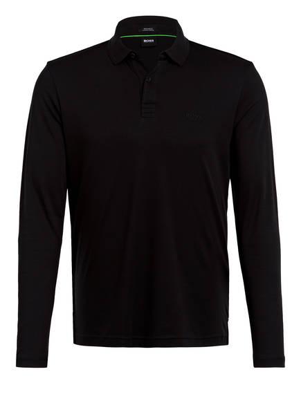 BOSS Jersey-Poloshirt PIROL Regular Fit, Farbe: SCHWARZ (Bild 1)
