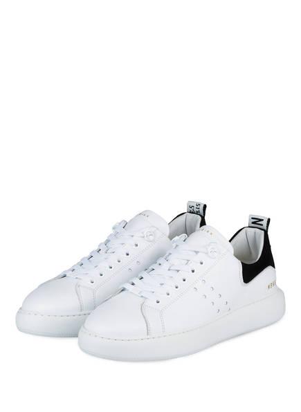 NUBIKK Sneaker SCOTT CALF, Farbe: 30L WHITE LEATHER (Bild 1)