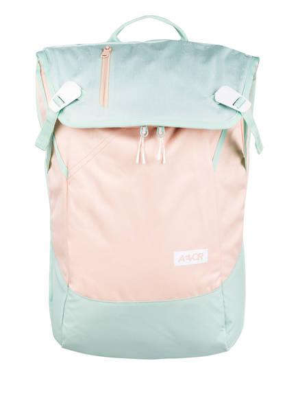 AEVOR Rucksack DAYPACK 18 l (erweiterbar auf 28 Liter) mit Laptop-Fach, Farbe: NUDE/ MINT (Bild 1)