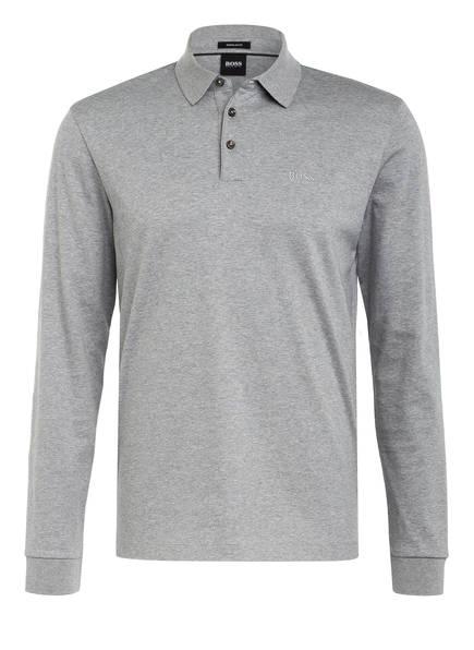 BOSS Jersey-Poloshirt PADO Regular Fit, Farbe: GRAU MELIERT (Bild 1)