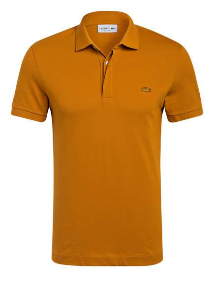 LACOSTE Piqué-Poloshirt PARIS Regular Fit, Farbe: DUNKELGELB (Bild 1)