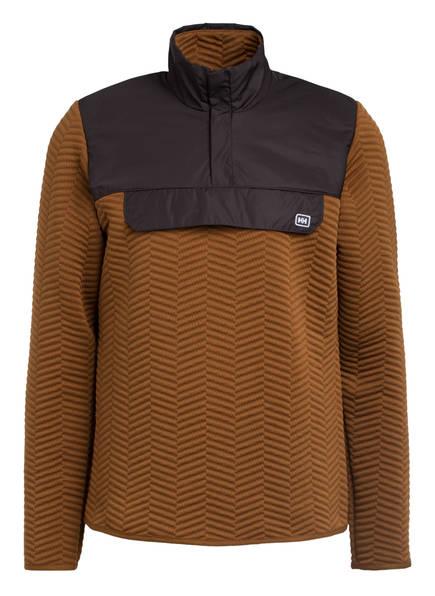 HELLY HANSEN Sweatshirt LILLO, Farbe: BRAUN (Bild 1)