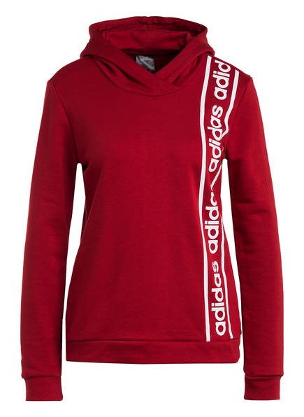 adidas Hoodie CELEBRATE THE 90S, Farbe: ROT/ WEISS (Bild 1)