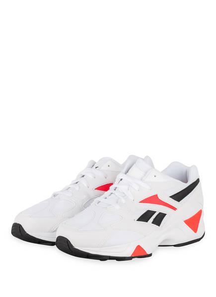 Reebok Sneaker AZTREK 96, Farbe: WEISS/ ORANGE (Bild 1)