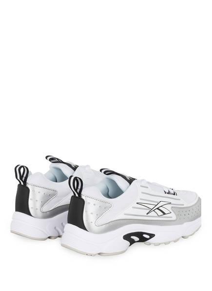 Sneaker DMX SERIES 2K  von Reebok   WEISS/ SCHWARZ/ SILBER