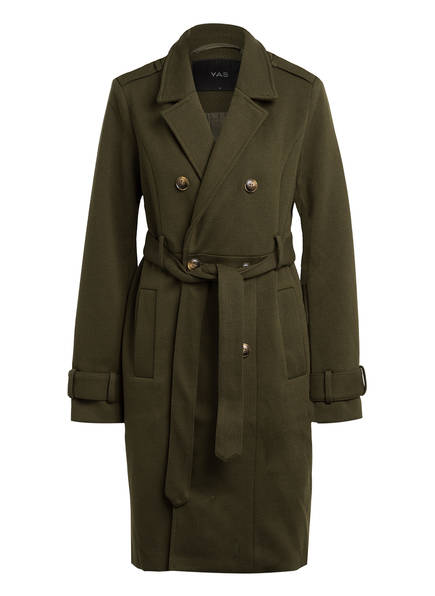 Y.A.S. Trenchcoat, Farbe: OLIV (Bild 1)