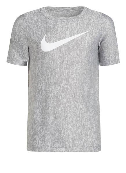 Nike T-Shirt DRI-FIT, Farbe: HELLGRAU MELIERT (Bild 1)