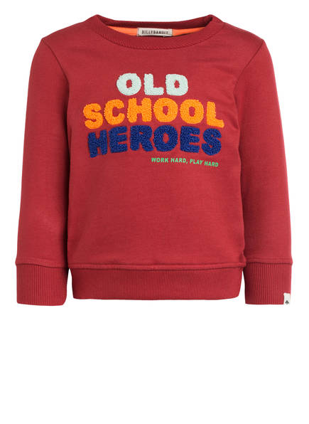 BILLYBANDIT Sweatshirt, Farbe: DUNKELROT (Bild 1)