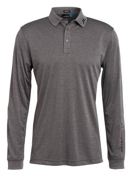 J.LINDEBERG Jersey-Poloshirt Regular Fit, Farbe: GRAU MELIERT (Bild 1)