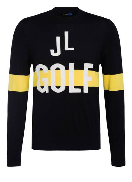 J.LINDEBERG Pullover , Farbe: SCHWARZ/ GELB (Bild 1)