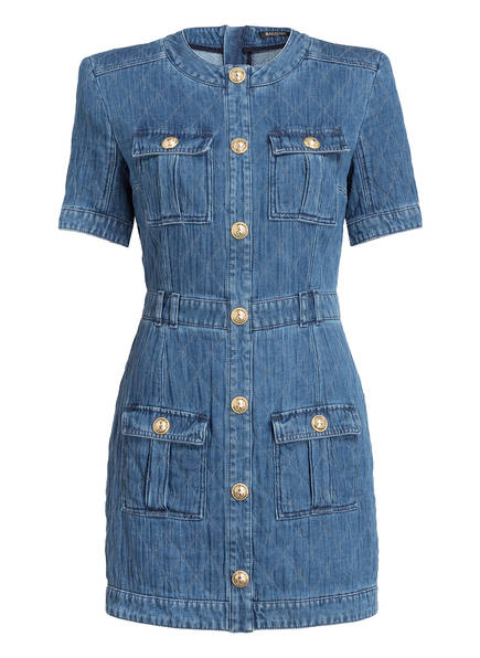 BALMAIN Jeanskleid, Farbe: BLAU (Bild 1)
